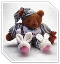 bear n bunny slippers