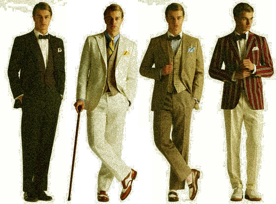 1920s 4 Look-alike Guys