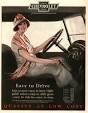 1920s Flapper Driving