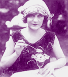 1920s Ice cream Flapper