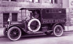 1920s Police car