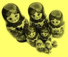1920s Russian Nesting Dolls