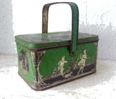 1920s Tin Lunch box