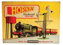 Hornby Clockwork Train Ad