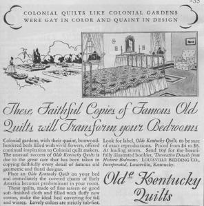 Vintage Quilt ad