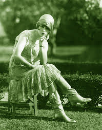 1920s flapper thinking