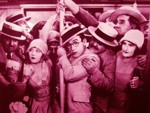 1920s subway crowded