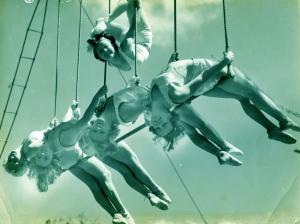 1920s circus acrobats