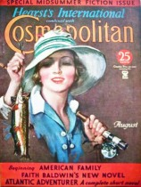 1920s Cosmo Fishing cover