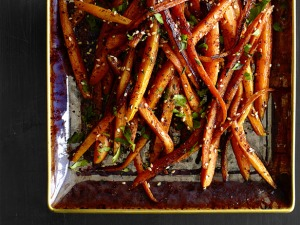 Roasted carrots Za'atar