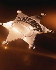 Sheriff badge