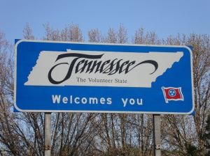 TN Welcome Sign