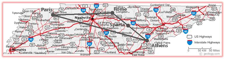 Ley Lines In Tennessee Pictures To Pin On Pinterest