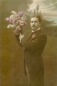 Victorian Guy flowers