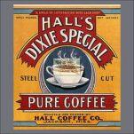 1920s Halls Coffee