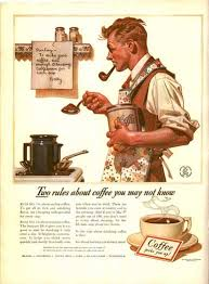 1920s Man Makes Coffee