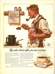 1920s Man Makes Coffee
