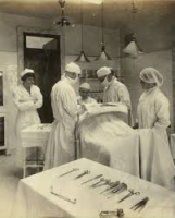 1920s Operating room