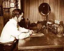 1928 Detroit police radio