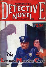 1929 Detective Novel Mag