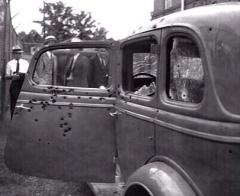 Bonnie-Clyde car 1934