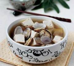 Clam-Tofu Soup