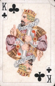 King of Clubs card