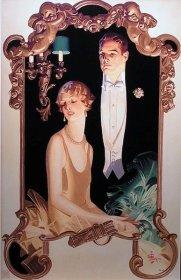 1920s Arrow couple