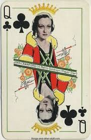 Joan Crawford Queen of Clubs