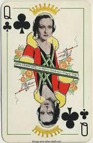 Joan Crawford Queen of Clubs