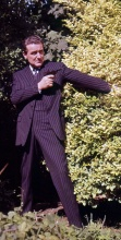 Lew or Patrick Macnee as John Steed