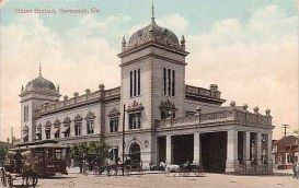 Union Station, Savannah, GA