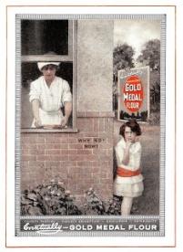 1920s Flour ad