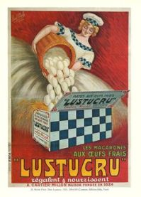 1920s French egg ad