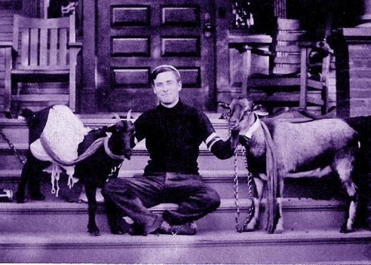 1920s man w-goats