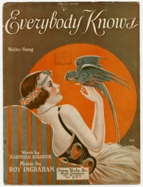 1920s SheetMusic Parrot