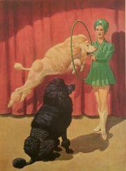1940 Webber Poodle hoop