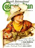 Cosmo cowgirl vintage