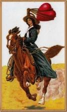 Cowgirl valentine