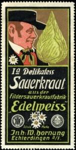 Sauerkraut ad