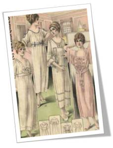 1919 Nightgowns ad