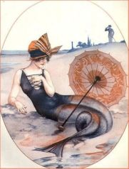 1920s La Vie Parisienne Mermaid by hérouard