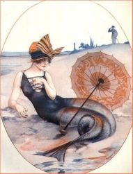 1920s La Vie Parisienne Mermaid by hérouard