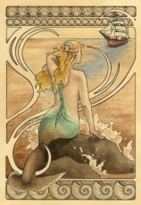 1920s Mermaiden