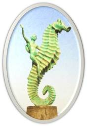 Boy and Seahorse