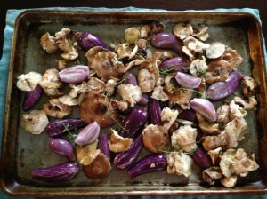 Chanterelle Mushrooms to Roast