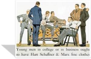 1916 Hart Schaffner ad