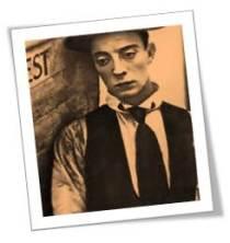 1920s Buster Keaton sad
