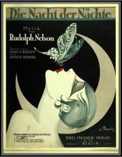 1925 Review Ad; butterfly kiss