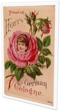 Vintage Rose German Cologne